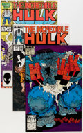 Modern Age (1980-Present):Superhero, The Incredible Hulk #300-466 Near Complete Range Short Box Group(Marvel, 1984-98) Condition: Average NM....