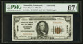 National Bank Notes:Tennessee, Memphis, TN - $100 1929 Ty. 1 Union Planters NB & TC Ch. # 13349. ...