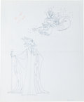 Animation Art:Production Drawing, Walt Disney's Sleeping Beauty Consumer Product IllustrationOriginal Art (1970-80s)....
