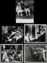 """Who's Afraid of Virginia Woolf? & Others Lot (Warner Brothers, 1966). Behind the Scenes Photos (5) (7.5"""" X..."""