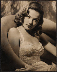 "Gene Tierney (20th Century Fox, 1940s). Photo (11"" X 14""). Miscellaneous"