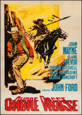 "Movie Posters:Western, Stagecoach (United Artists, R-1950). Italian 2 - Foglio (39"" X55""). Western.. ..."