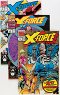 Modern Age (1980-Present):Superhero, X-Force #1-95 Near Complete Range Giant Short Boxes Group (Marvel,1991-99) Condition: Average NM.... (Total: 14 Box Lots)