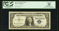 "Error Notes:Miscellaneous Errors, Inverted ""W"" Prefix Letter Fr. 1619 $1 1957 Silver Certificate. PCGS Apparent Very Fine 30.. ..."