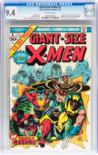 Giant-Size X-Men #1 (Marvel, 1975) CGC NM 9.4 Off-white pages