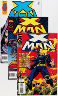 Modern Age (1980-Present):Superhero, X-Man #1-48 Near Complete Range Short Boxes Group (Marvel, 1990s)Condition: Average NM.... (Total: 5 Box Lots)