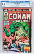 Bronze Age (1970-1979):Superhero, Conan the Barbarian Annual #5 (Marvel, 1979) CGC NM/MT 9.8 Off-white to white pages....