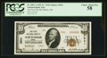 National Bank Notes:Maine, Bar Harbor, ME - $10 1929 Ty. 2 The First NB Ch. # 3941. ...