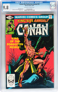 Modern Age (1980-Present):Miscellaneous, Conan the Barbarian Annual #6 (Marvel, 1981) CGC NM/MT 9.8 Off-white to white pages....
