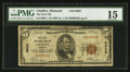 National Bank Notes:Missouri, Chaffee, MO - $5 1929 Ty. 1 The First NB Ch. # 9928. ...
