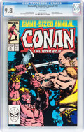 Modern Age (1980-Present):Superhero, Conan the Barbarian Annual #12 (Marvel, 1987) CGC NM/MT 9.8 Whitepages....