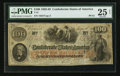 Confederate Notes:1862 Issues, T41 $100 1862 PF-51 Cr. 327.. ...