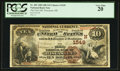 National Bank Notes:Maine, Wiscasset, ME - $10 1882 Brown Back Fr. 482 The First NB Ch. #(N)1549. ...