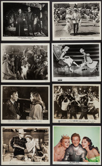 "Movie Photo Lot (Various, 1930s-1970s). Photos (100+) (8"" X 10""). Miscellaneous. ... (Total: 100 Items)"