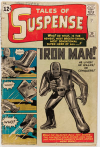 Tales of Suspense #39 (Marvel, 1963) Condition: FR