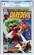 Modern Age (1980-Present):Superhero, Daredevil #162 (Marvel, 1980) CGC NM/MT 9.8 White pages....