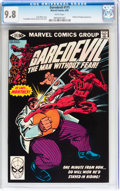 Modern Age (1980-Present):Superhero, Daredevil #171 (Marvel, 1981) CGC NM/MT 9.8 White pages....