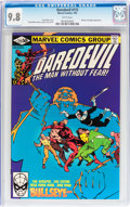 Modern Age (1980-Present):Superhero, Daredevil #172 (Marvel, 1981) CGC NM/MT 9.8 White pages....