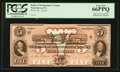 Obsoletes By State:Pennsylvania, Norristown, PA- The Bank of Montgomery County $5 G32a Hoober 281-5 Proof. ...