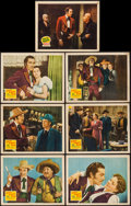 """Movie Posters:Western, Viva Cisco Kid & Other Lot (20th Century Fox, 1940). Lobby Cards (7) (11"""" X 14""""). Western.. ... (Total: 7 Items)"""