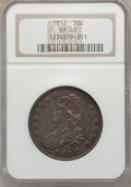 Bust Half Dollars: , 1812 50C Large 8 XF45 NGC. NGC Census: (91/562). PCGS Population(123/519). Mintage: 1,628,059. Numismedia Wsl. Price for p...