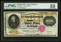 Large Size:Gold Certificates, Fr. 1225h $10,000 1900 Gold Certificate PMG About Uncirculated 53.....