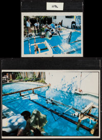 "Star Trek IV: The Voyage Home & Others Lot (Paramount, 1987). Behind the Scenes Four Color Overlays (2) (6""..."