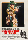 "Movie Posters:Western, High Noon (United Artists, R-Late 1960s). Italian 2 - Foglio (39.5""X 55""). Western.. ..."