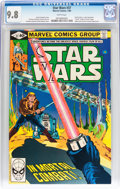 Modern Age (1980-Present):Science Fiction, Star Wars #37 (Marvel, 1980) CGC NM/MT 9.8 White pages....
