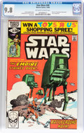 Modern Age (1980-Present):Science Fiction, Star Wars #40 (Marvel, 1980) CGC NM/MT 9.8 Off-white to whitepages....