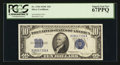 Small Size:Silver Certificates, Fr. 1704 $10 1934C Silver Certificate. PCGS Superb Gem New 67PPQ.. ...