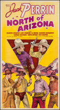"Movie Posters:Western, North of Arizona (William Steiner, 1935). Three Sheet (41"" X 75"").Western.. ..."