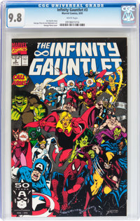 The Infinity Gauntlet #3 (Marvel, 1991) CGC NM/MT 9.8 White pages