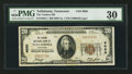 National Bank Notes:Tennessee, Tullahoma, TN - $20 1929 Ty. 1 The Traders NB Ch. # 4020. ...