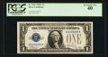 Small Size:Silver Certificates, 60000000 Serial Numbered Fr. 1601 $1 1928A Silver Certificate. PCGS Extremely Fine 40.. ...