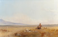 Fine Art - Painting, American:Antique  (Pre 1900), JOHN GADSBY CHAPMAN (American, 1808-1889). Shepherds. Oil oncanvas. 24 x 36 inches (61.0 x 91.4 cm). THE JEAN AND GRA...