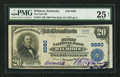 National Bank Notes:Kentucky, Wilmore, KY - $20 1902 Plain Back Fr. 653 The First NB Ch. # 9880....