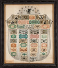 Fractional Currency:Shield, Fractional Currency Shield, With Gray Background Extremely Fine.....