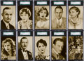 Non-Sport Cards:Sets, 1920's R197 Blatz Gum Screen Stars Complete Set (20) - #1 on theSGC Set Registry. ...