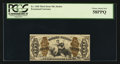 Fractional Currency:Third Issue, Fr. 1368 50¢ Third Issue Justice PCGS Choice About New 58PPQ.. ...