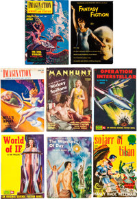 Science Fiction/Mystery Digest Box Lot (Various Publishers, 1940s-60s) Condition: Average VG
