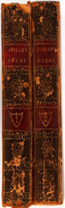 Books:Literature Pre-1900, James MacPherson, translator. The Poems of Ossian, the Son of Fingal. Perth: R. Morison, 1795. Complete in two small... (Total: 2 Items)