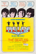 Music Memorabilia:Posters, Beatles Help! Theatrical Poster (United Artists, 1965)....