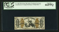 Fractional Currency:Third Issue, Fr. 1364 50¢ Third Issue Justice PCGS Gem New 66PPQ.. ...