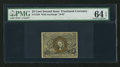Fractional Currency:Second Issue, Fr. 1284 25¢ Second Issue PMG Choice Uncirculated 64 EPQ.. ...