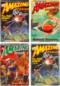 Pulps:Science Fiction, Amazing Stories Group (Ziff-Davis, 1944-46) Condition: AverageVG.... (Total: 18 Items)