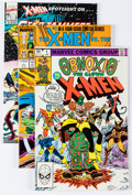 Modern Age (1980-Present):Superhero, X-Men Related Short Boxes Group (Marvel, 1980s) Condition: AverageNM.... (Total: 2 Items)