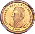 Commemorative Gold, 1904 G$1 Lewis and Clark MS66 NGC. CAC....
