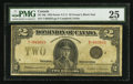 Canadian Currency: , DC-26j $2 1923. ...