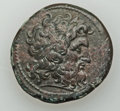 Ancients:Greek, Ancients: PTOLEMAIC EGYPT. Ptolemy II Philadelphus (285-246 BC). Æhemidrachm (29mm, 15.62 gm, 12h). ...
